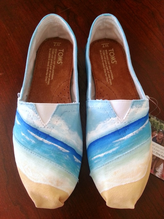 Beach and Ocean TOMS