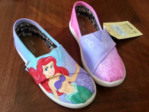 Little Mermaid TOMS