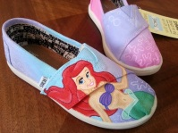 Little Mermaid TOMS
