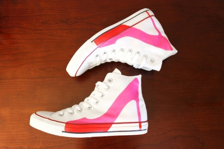 High Heel Converse