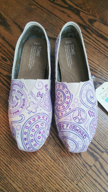 Swirls and Symbols TOMS