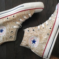 Wood Grain Converse