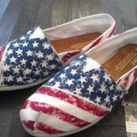 American Flag TOMS