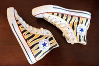 Tiger Stripe Converse