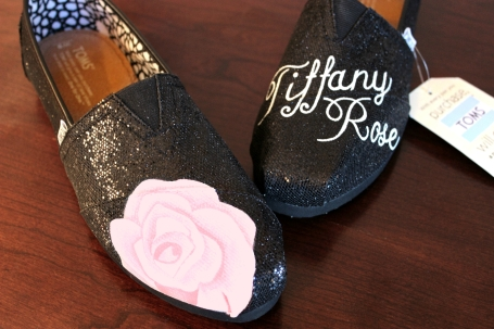 Tiffany Rose TOMS