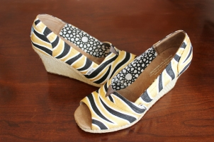 Tiger Stripe Wedges